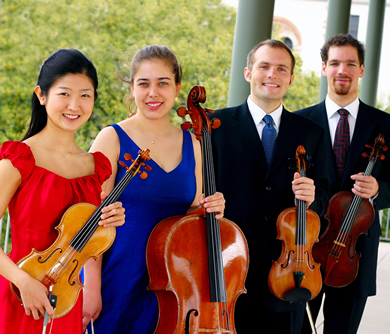 """Many presenters attended the Competition and some approached us to play concerts, which was very helpful to us."" - Rachel Henderson Freivogel, cello, Jasper Quartet"
