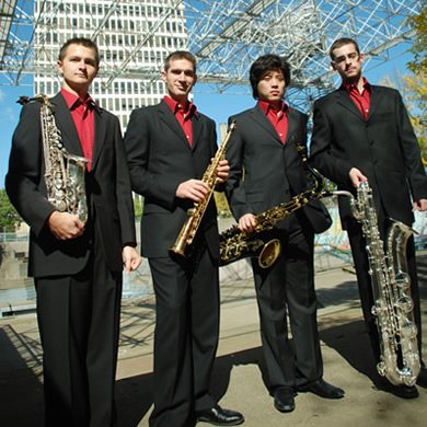 """As a result of the Competition, we were featured several times in Chamber Music America magazine, we were asked to do several concerts around the East Coast, and we were invited to be in residence at two summer music festivals, one of them in Vail, Colorado. The importance of being in this competition is tremendous, as is the potential for career growth after the fact."" - Doug O'Connor, saxophone, Red Line Sax Quartet"