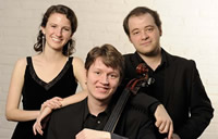 Russian Trio Baltimore, Maryland SILVER MEDALIST AND AUDIENCE CHOICE AWARD Katherine Harris Rick, piano; Nikita Borisevich, violin; Dmitry Volkov, cello