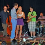 Dominick Farinacci with Students