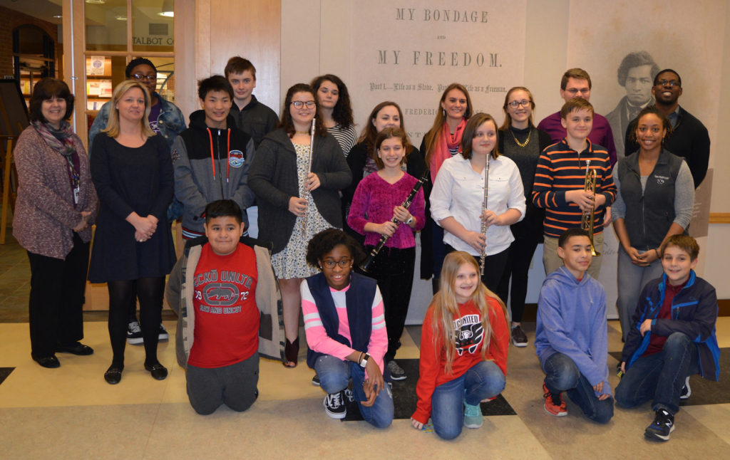 Easton Middle School Musicians Benefit from Artist-in-Residence Program