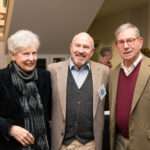 Ceci and Rob Nobel with Don Buxton, photo by Jennifer Mandino